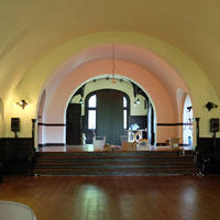 Ballroom & Proscenium with red light