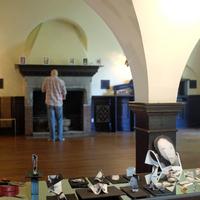 Dan Rose Setting Up Fireplace 2