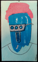 Paint Blob to Face 12